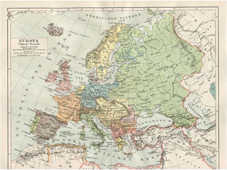 map of europe pdf free Old Maps of Europe: Vintage Prints (Free PDF Maps)
